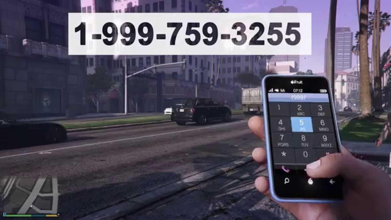 Cheat GTA-V dengan nomor telephone | Propacom Net